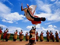 A Burundi tribal dance. What an experience it must be to see live!