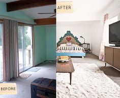 A completely different room!