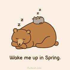 Maak me wakker in de lente...
