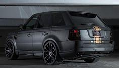Range Rover Sport Kit 3/4 rear view courtesy of Luxor Auto.