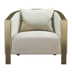 Looking for a fresh way to cool the house this month? Create a quiet, elegant interior swathed in understated neutrals. Luxury Chairs, Luxury Furniture, Furniture Design, Furniture Ideas, Love Chair, Living Room Sofa Design, Beauty Lounge, Side Chairs, Easy Chairs