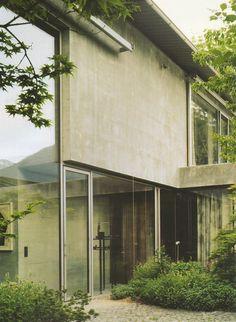 Peter Zumthor - Wohnhaus und Atelier, Haldenstein - TÉCHNE