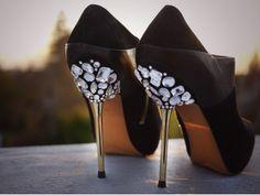 Pimp your shoes! customiser ses chaussures customisation diy