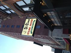 St. Elmos restaurant in downtown Indianapolis Indiana