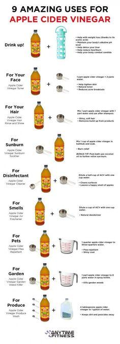 9 Amazing Uses for Apple Cider Vinegar