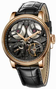 """Arnold & Son TB88 """"Inside Out"""" Watch"""
