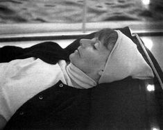 Greta Garbo on a cruise with Cecile de Rothschild - Corsica, France 1973