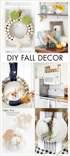 With 25 different DIY decor projects, there's sure to be an idea that suits the style of your home this fall. From wreaths and pumpkin crafts to wall art, these ideas will refresh your home.