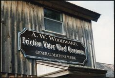 The Woodward mill house at the Midway village museum in Rockford, Illinois.