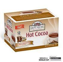 Grove Square Milk Chocolate Hot Cocoa (72 K-Cups)