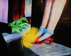 Wizard of Oz. Art.