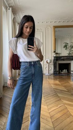 Casual Looks, Mom Jeans, Pants, Style, Fashion, Trouser Pants, Swag, Moda, Fashion Styles
