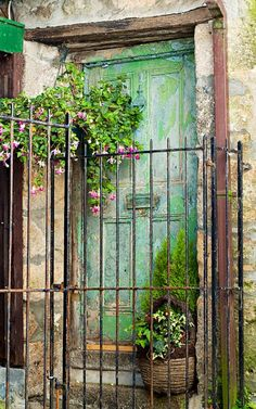 I love England's old doors and I love St. Ives ~ Cornwall, England