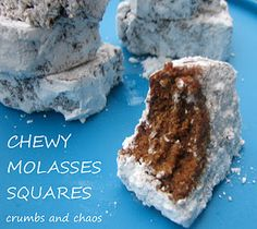 Chewy Molasses Squares