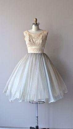 Storybook dress vintage 1950s dress lace 50s dress by DearGolden