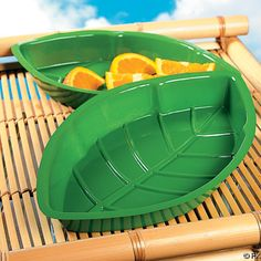 Jungle-Themed First Birthday Party food dishes from www.fabeveryday.com