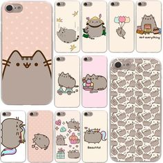 Cheap case a, Buy Quality case plus directly from China case for Suppliers: Lavaza cute funny lovely Pusheen Cat Hard Phone Cover Case for Apple iPhone 10 X 8 7 6 Plus 5 SE 4 Coque Shell Iphone 7 Plus, Iphone 10, Girl Phone Cases, Cute Phone Cases, Iphone Hard Case, Iphone Case Covers, Chat Pusheen, Accessoires Iphone, Coque Iphone 6
