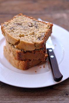 Pandolce alle noci (farina di farro, avena, latte)t www.mentaeliquirizia,