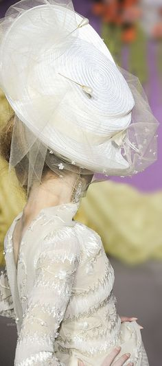 Rosamaria G Frangini | | Luxe Be A Lady | Christian Dior Hat Glam