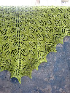 Ravelry: Photosynthesis Shawl pattern by tincanknits