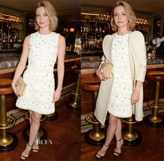 Annabelle Wallis In Mulberry – Charles Finch, Mulberry and PORTER Magazine Dinner Party