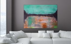 Large 40 by 30 Abstract Painting acrylic Painting by Itisfine, Dining, Abstract, Awesome, Artist, Artwork, Etsy, Paintings, Summary, Food