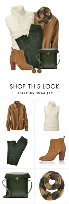 """""""Untitled #1200"""" by gallant81 ❤ liked on Polyvore featuring Uniqlo, Balenciaga, River Island and MANU Atelier"""