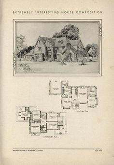 Home by Architect Andrew Charles Borzner.  The book of beautiful homes. by Andrew C. Borzner  Published 1932 BookReaderImages.php (607×878)
