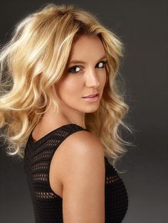 Britney Spears. Just because she represents all the blondes with dark eyes