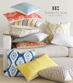 Thom Filicia Home Collection Decorative Pillows