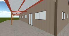 Cool 3D #marketing http://ift.tt/2wLo9C1 #barn #workshop #greenhouse #garage #roofing #DIY