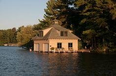 Classic Minocqua Boathouse Photo - Visual Hunt