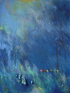 paintings 2009: 2 : Yuko Ueda Abstract. Color.