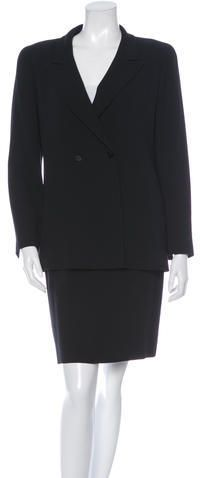 Chanel Wool Skirt Suit Wool Skirts, Skirt Suit, Suits For Women, Just For You, Chanel, Blazer, Stylish, Jackets, Tops