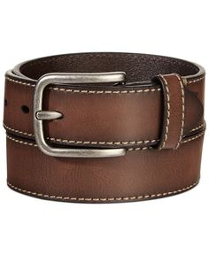 Levi's Bridle With Heavy Contrast Stitch Belt