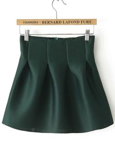 Green Flare Tiered Skirt US$20.98