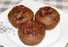 brzi mafini sa cokoladom- recepti za UN dijetu Torte Recepti, Kolaci I Torte, Mafini Recepti, Baking Recipes, Cake Recipes, Dessert Recipes, Mini Cakes, Cupcake Cakes, Cupcakes