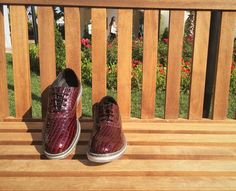Caiman Maroon Lace-Up  -Crafted from pure polished leather -Convenient anatomic last -Captivating Design -Long lasting out-sole and colour  💛 Only £26.70  Worldwide Shipping Free Delivery in Europe  Men`s Shoes Shopping Hub - HOUSELEVIN now on Instagram and Facebook 😏  Product Code:TR1062  #mensfashion #onlineshopping #instashoes