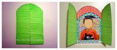 Attività Creative Per Bambini: Finestra portafoto per la Festa del Papà
