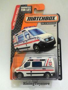 Matchbox Renault Master Ambulance