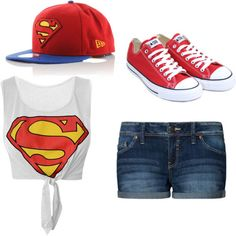 Polyvore Swag Outfits   Superman - Polyvore   We Heart It