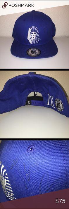 9ceb61d45df TYGA Signed!! Last Kings SnapBack Blue Last Kings hat signed by TYGA.  Slightly