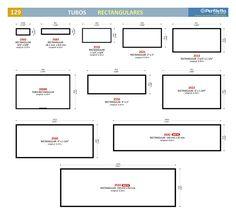 Tubos Rectangulares Perfiletto ®  Catálogo Virtual Perfiletto