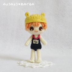 bañista amigurumi pagina japonesa