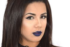 How to rock dark lips on a daily basis