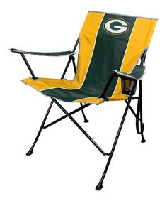 Loving this Green Bay Packers Lawn Chair on #zulily! #zulilyfinds