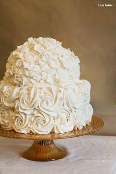 Adorable cake---and buttercream, not fondant.
