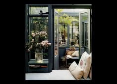 Now this is up my alley. This window just begs for a book to occupy it's seat :: madderlakedesigns.com