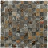 @Overstock - Update your kitchen, bathroom or backsplash with these slate, metal and glass tilesSomerTile Cologne wall tiles come in beige, tan, cream, bronze, metallic and earth tonesThese tiles are great for interior and exterior use.http://www.overstock.com/Home-Garden/SomerTile-12x12-in-Basilica-1-in-Cologne-Glass-Stone-Mosaic-Tile-Pack-of-10/4513683/product.html?CID=214117 $205.99