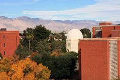 Steward Observatory on Arizona campus